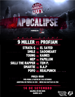 Flyer LKO Apocalipse by JuniorNeves