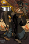 Fetish Vixens Comic Cover #2: Hands of a Thief by zp92