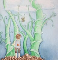 Jack and the Beanstalk by mistoftime