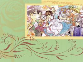 Ouran High in Wonderland by Tsulalaa