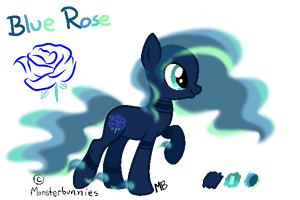 Blue Rose - Reference Sheet by M00nlightMagic