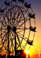 Carnival Sunset. by hayleyvictoria77
