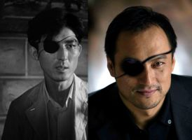 Dr. Serizawa (1954 vs 2014) Comparison by nine-tailedgodzilla
