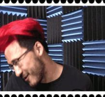 Markiplier Red Hair Fluffiness Stamp :Big: by SpookyMuffin4545