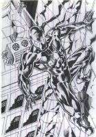 black spidey by Capocyan-Arvin