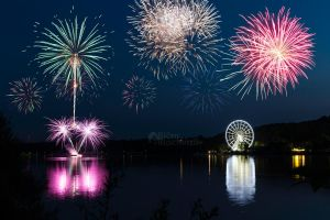 Kemnade in Flammen - Firework at the reservoir by BlackGalaxy13