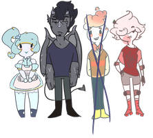 AdoptableS! 3?CLOSED by Ask-Olive-And-Oliver