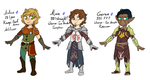 Dragon Age Guy Squad by CrispyCh0colate