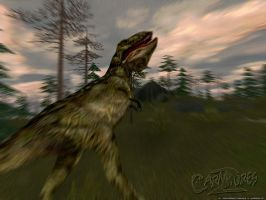 Carnivores 2 - TRex Wallpaper by guildedwings