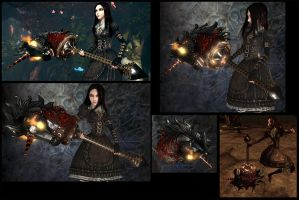 Alice 2_abyssal steed by Cerberus071984