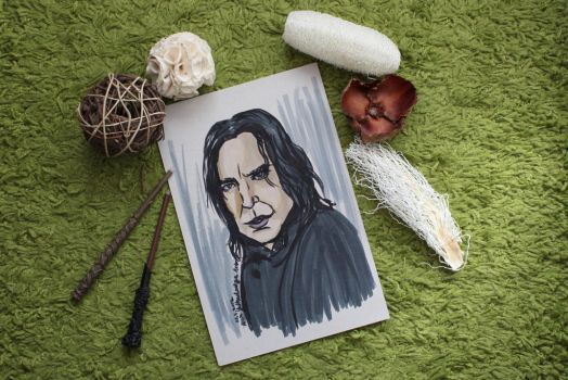 Snape Always by aliciayellowlodge