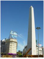 Obelisco by tomegatherion