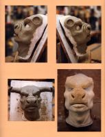 Minotaur mask by ericvonl