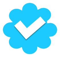 Homemade Verified Twitter Icon by ETSChannel