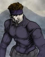 Solid Snake by X-Sandstorm-X