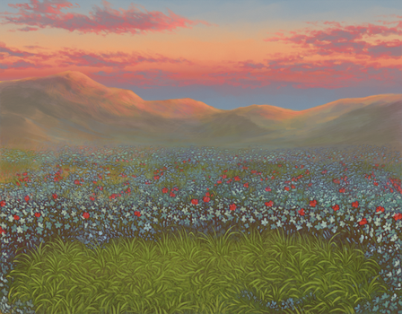 Lioden: Flowering Fields by mrXylax