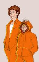 Nathan and Kenny by soltian