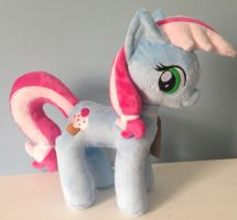 Sweetie Blue Plushie by PlushieScraleos