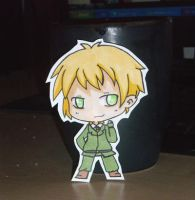 Hetalia: England Paper child by Sunchildkate