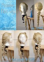 Frozen: Elsa Wig wip by Stealthos-Aurion