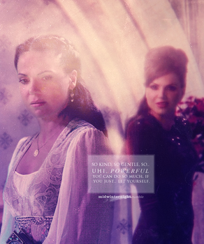 Good and Evil | Regina and Regina by haryalcuile