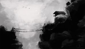 bw speed painting test by cury