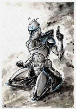 COMMISSION: Captain Rex Phase I by Chooone