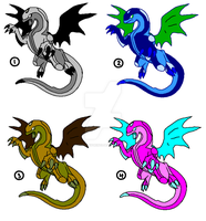 1 Point Adopts- Dragonoids 1 -closed- by ProudRyukin13