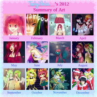 2012 Art Summary by Twigileia