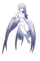 Day 1: Harpy by Mischief-Moose