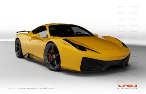 Ferrari 458 Italia GT - 3 by jmvdesign