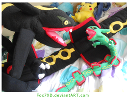 Mini Rayquaza 2 by Fox7XD