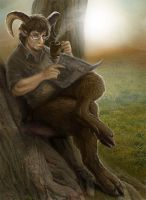 Sheepish Satyr by Viergacht