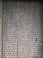 Stock Texture - Studded door by rockgem