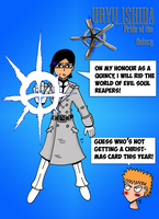 Uryu Pride of the Quincy by JohnnyFive81