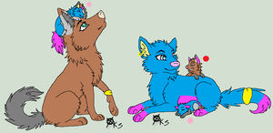 Puppy Adoptables by cristal112
