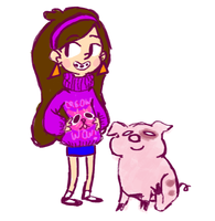 mabel doodle by furriendly