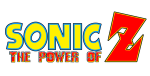 Sonic The Power of Z Logo by KingAsylus91
