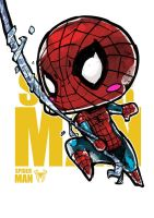 Chibi Spiderman by Jrpencil