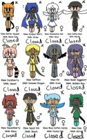 -CLOSED- TMM Write to Adopt Adoptables 9 by TheFuschiaSide