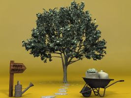 Cash tree by PhilJacques