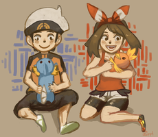Protags by ApplFruit