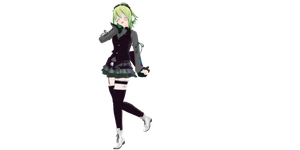 .:MMD DL:. Loud Gumi by Gr8AndPowerfulAroura