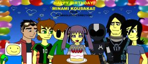 CN Absolution Direction - Minami's 18th Birthday by ian2x4
