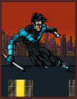 Nightwing by RAHeight by SageHazzard