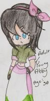 Young/ Adult Abby by Rockman214