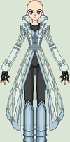 SSMU AQW - Diamond Dueler (Female) by invertqueen7
