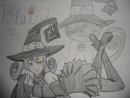 soul eater blair by AlElricfangirl66