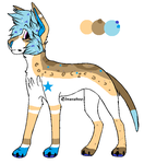 25 point starboy Canine adoptable -open- by Storm-adopt