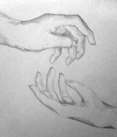 Hand Study #2 by shattertheair